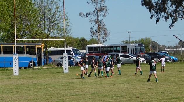 Se realizó Encuentro de Escuelitas de Rugby en Saladillo