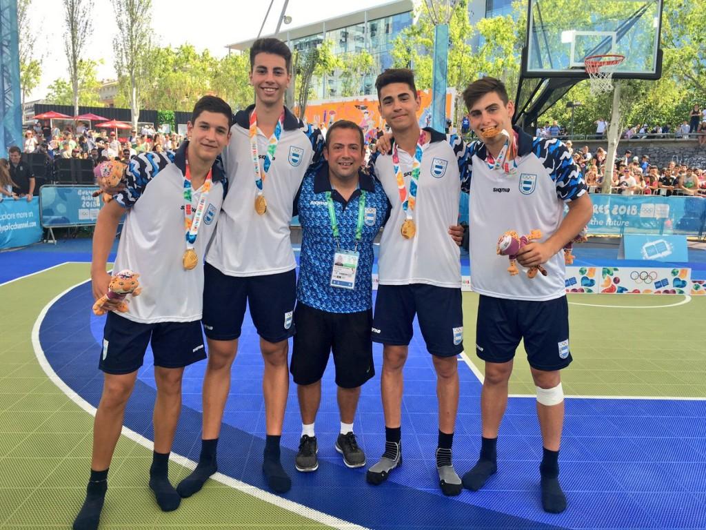 Argentina medalla de Oro en basquet 3x3
