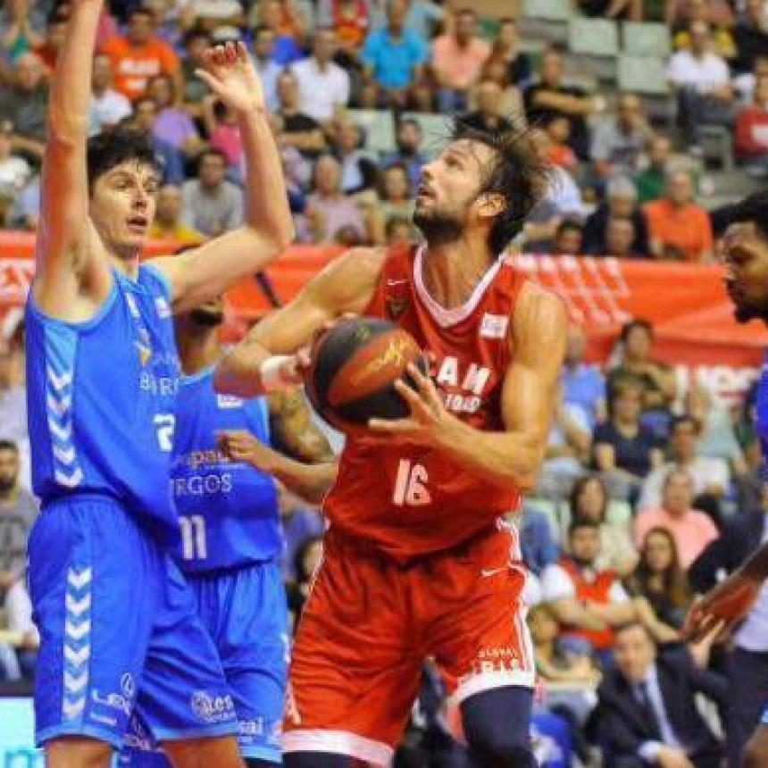 El Ucam Murcia de Marcos Delía logró su primera victoria liguera