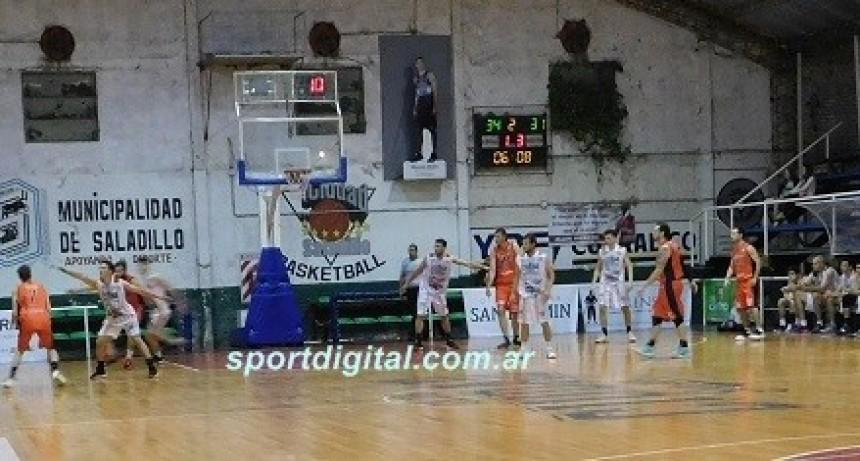 Ciudad le ganó a Zarate en el Provincial de clubes