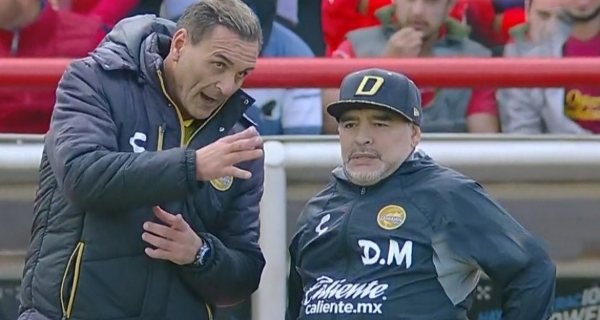 Dorados sufrió pero ganó y sigue subiendo de la mano de Maradona