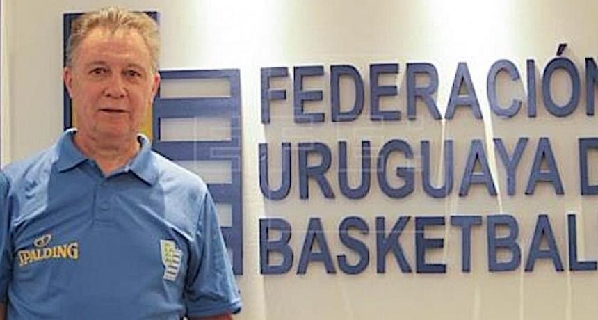 Ruben Magnano es el entrenador de la selección de Uruguay de Basquet