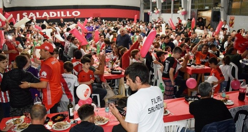 Filial Saladillo de River Plate organizó cena