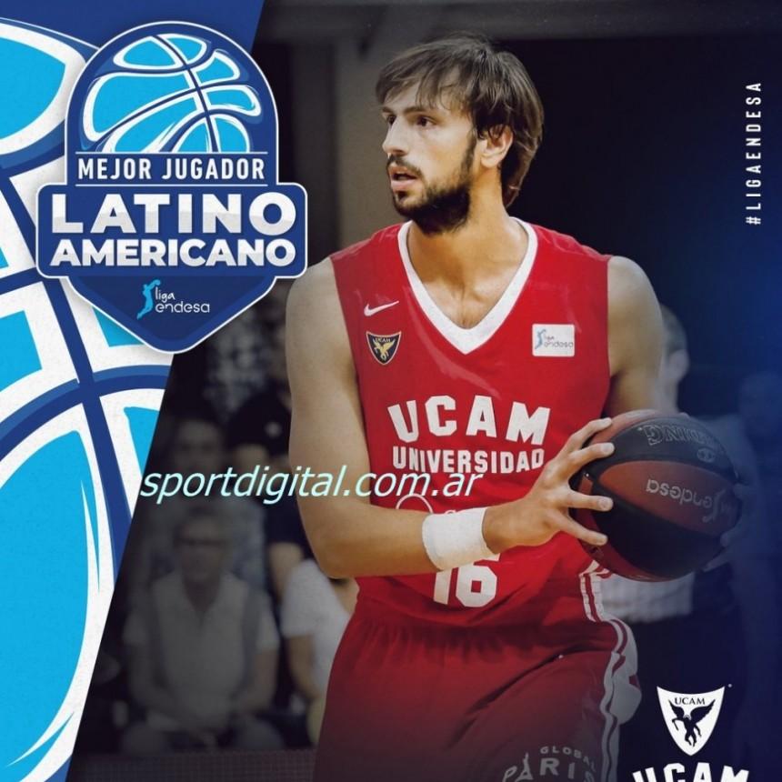 Marcos Delía, Jugador Latinoamericano de la Jornada 1