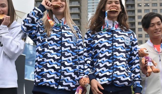 Oro en BMX para la delegación Argentina en los Olimpicos