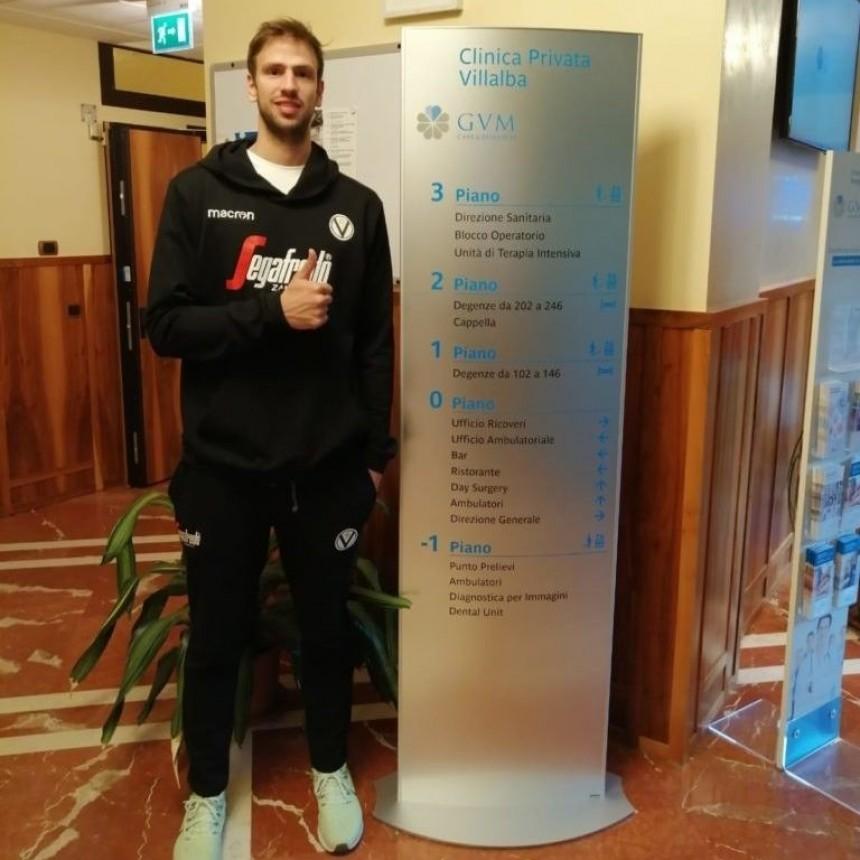 Marcos Delía se realizó los exámenes médicos en su nuevo club