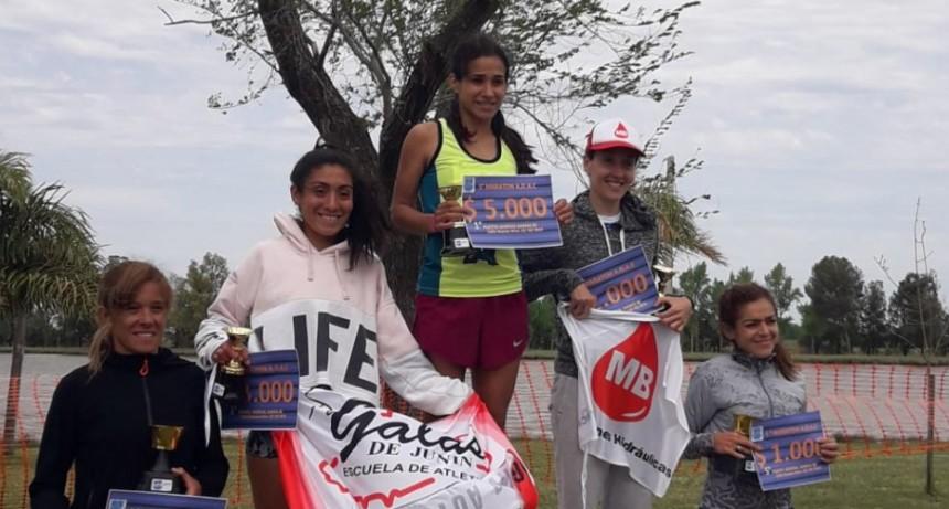 Francisca Almirón se quedó con la 5° Maratón de Colon