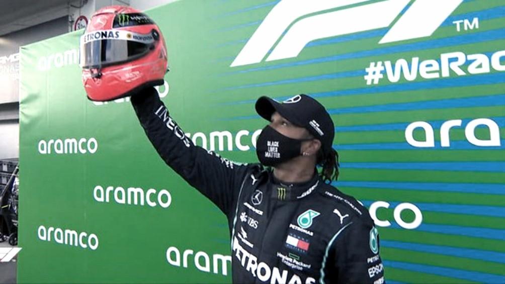 Hamilton hace historia en Nürburgring al igualar el récord de victorias en la Fórmula 1