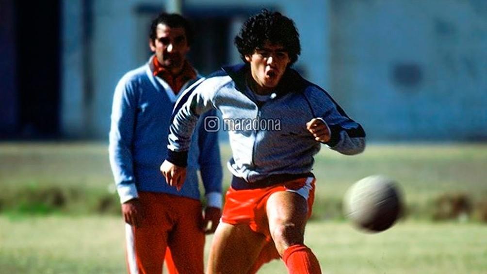 Alberto Fernández recordó el debut de Maradona en Argentinos Juniors