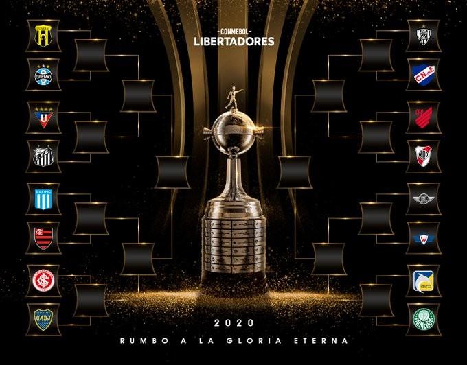 Se sorteo la fase final de la Libertadores 2020
