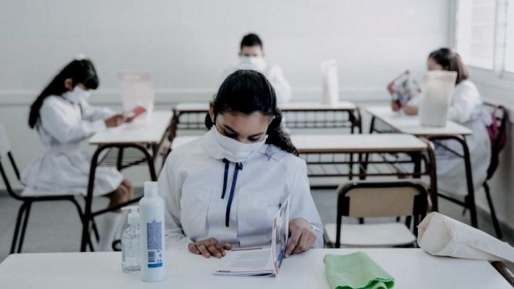 Regresan a clases presenciales unos 6.700 alumnos en algunas ciudades de la provincia de Buenos Aires