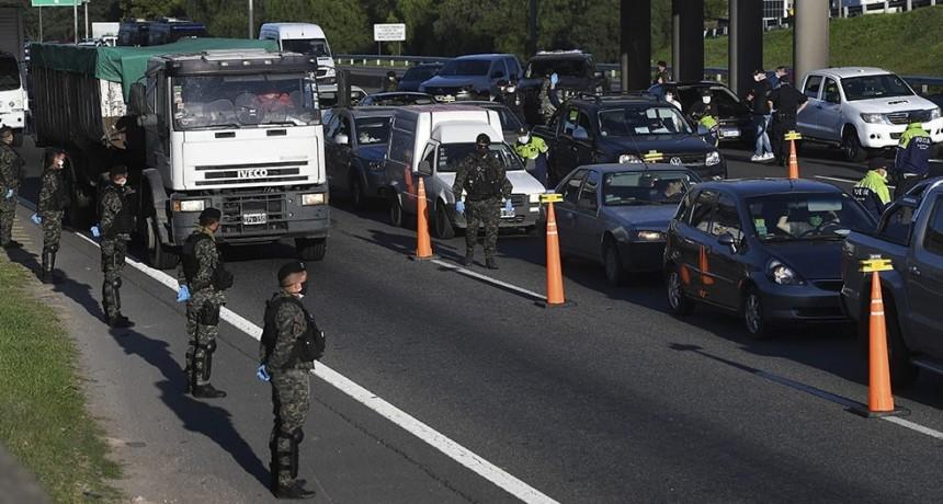 Siete municipios retiran los controles en las rutas desde el lunes