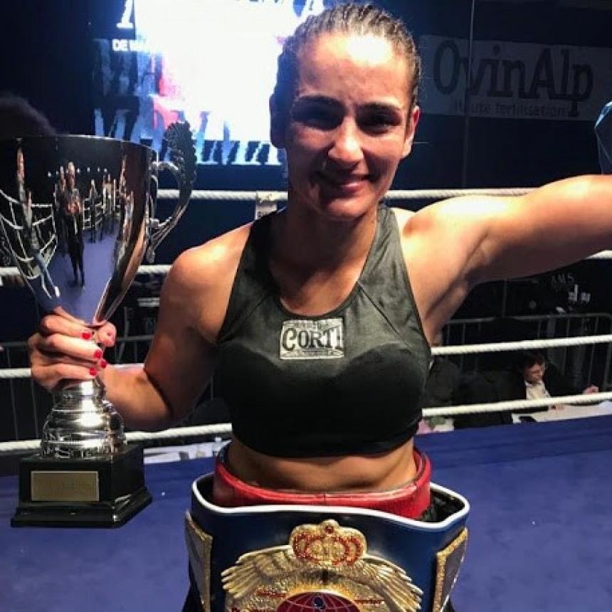 Se aplazó el combate por el título de Tamara Demarco en Francia