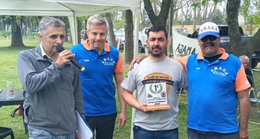 Motos Clásicas: Luciano Álvarez ganó el Segundo Rally de Alvear