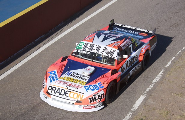 Juan Martin Bruno finalizo sexto en La Pampa