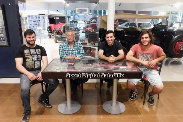 Doble jornada en El Ciclón del Saladillo Automóvil club