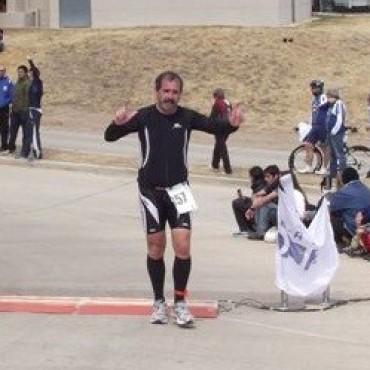 Julio Cesar Saizar fue segundo en el Cross Country de Bragado
