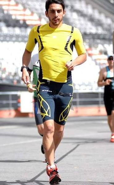 Emanuel Díaz fue 3° en las 24 Horas del Ultramaratón de La Plata