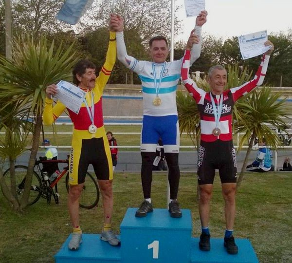 Miguel Ángel Lubo obtuvo medalla de Plata en Mar del Plata