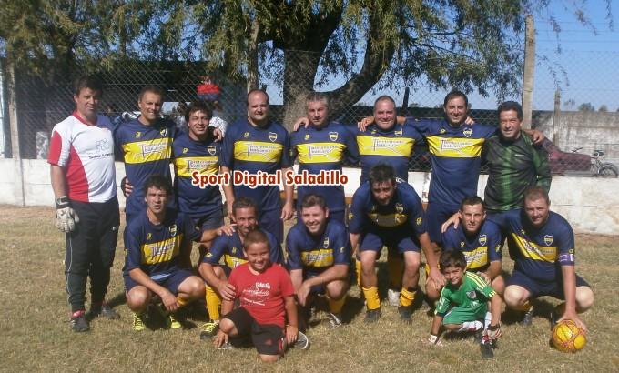 Jacobo Urso y Barrancoseños jugaran la final de Veteranos