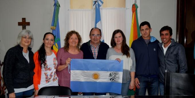 Intendente y funcionarios de Deporte se reunieron con  la comisión directiva de Patín