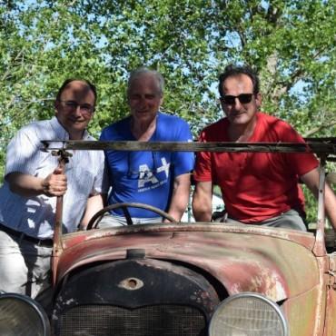Salomón en visitó la muestra La Oxidada en Toledo