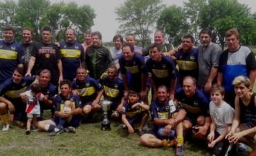Jacobo Urso se corono campeón del Torneo de Veteranos