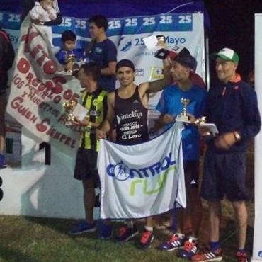 Ezequiel Aguilera finalizó octavo en la Maratón 25 de Mayo Corre