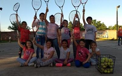 Encuentro de Escuelas de Tenis infantil