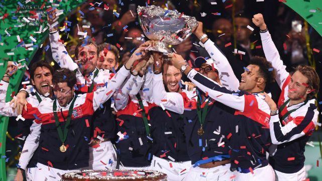 Francia consiguió su décima Copa Davis