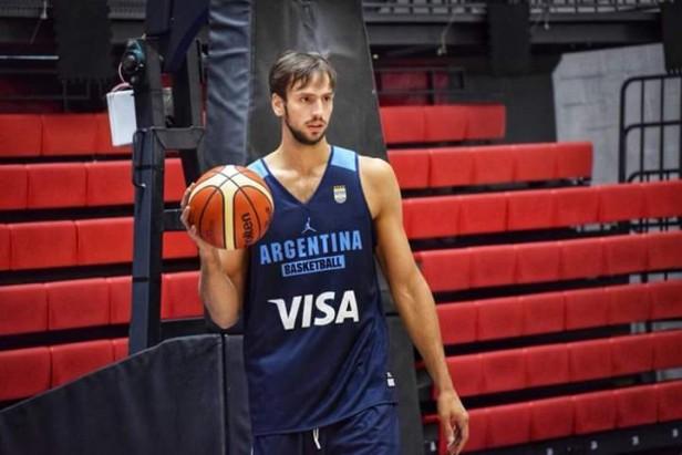 Entrenó la selección Argentina con Marcos Delía