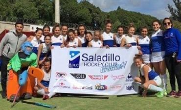 Tercer puesto en el provincial sub 14 para el Saladillo Hockey club
