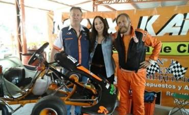 """Carlos """"Nono"""" Simonetti fue quinto en el kartódromo de Zarate"""