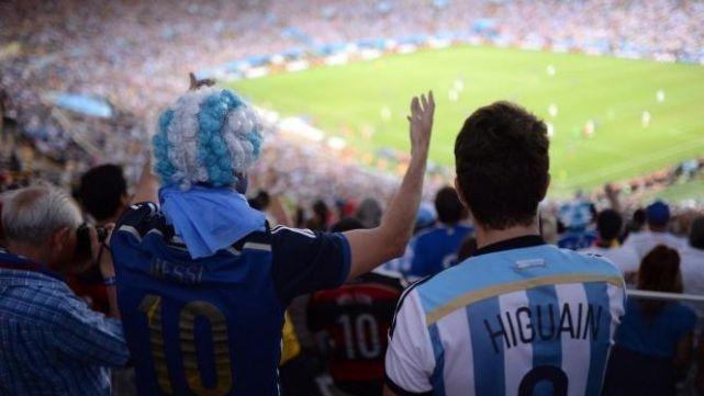 Se agotaron las entradas para ver a la Argentina en el Mundial