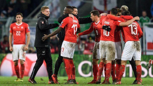 Suiza y Croacia sacaron boleto para Rusia 2018