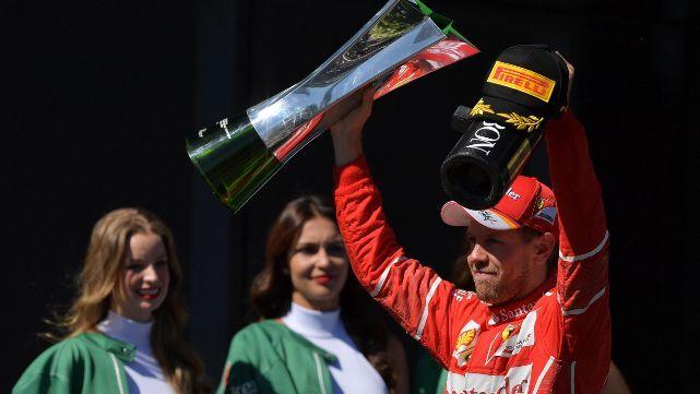 Vettel fue el más rápido en San Pablo y plantó