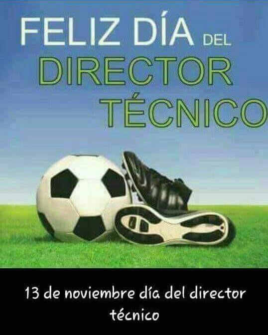 Feliz Día a los DT del Fútbol Saladillense