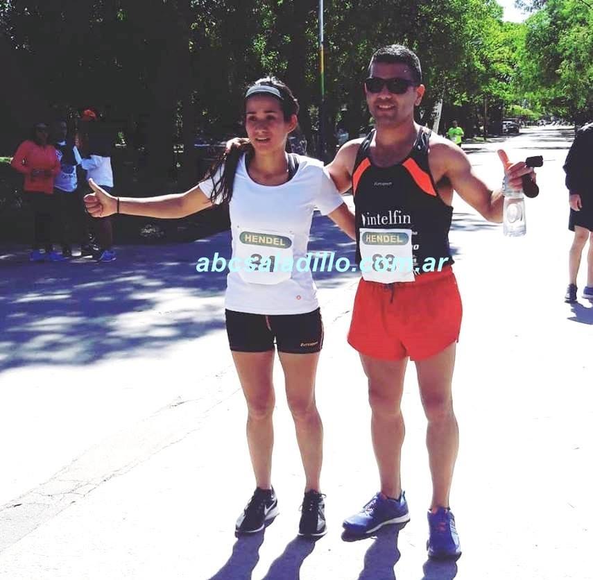 Ezequiel Aguilera y Francisca Almirón ganaron en Chascomus