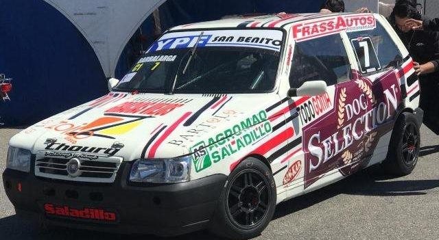Lucas Barbalarga fue quinto en Rosario en el Turismo Pista