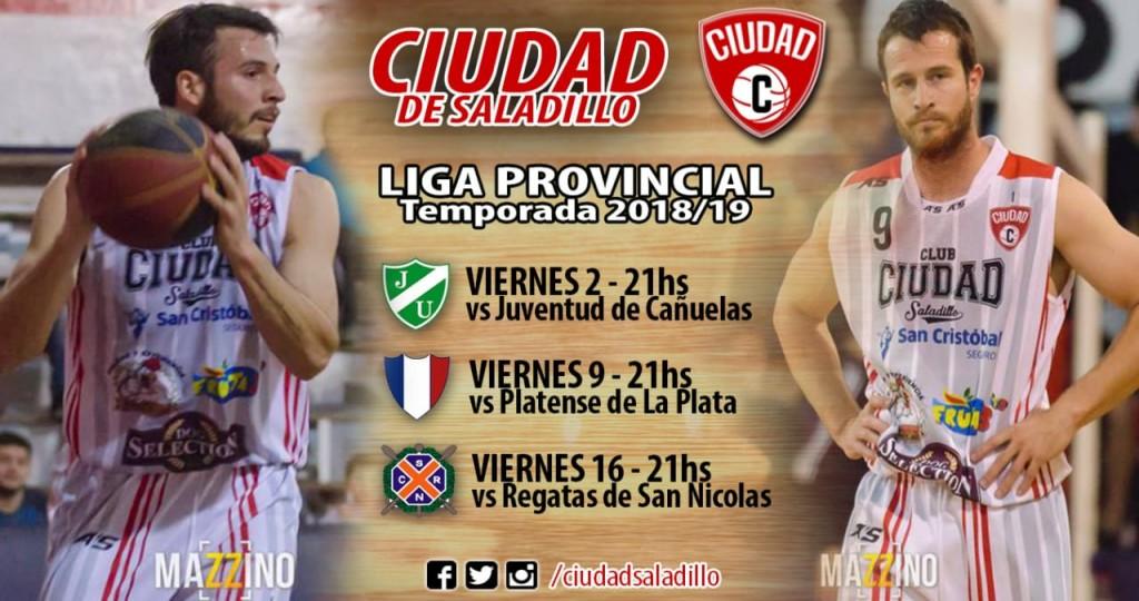 Ciudad jugará tres partidos seguidos de local