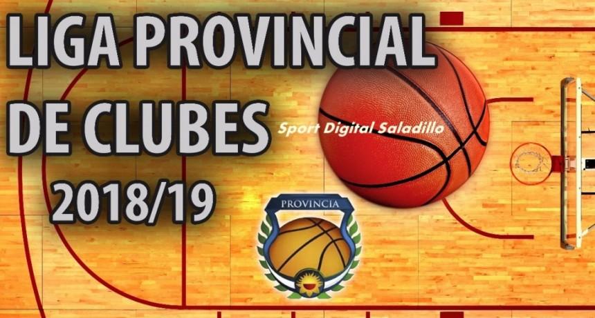 Resumen sexta fecha del Torneo Provincial de Clubes 2018/19