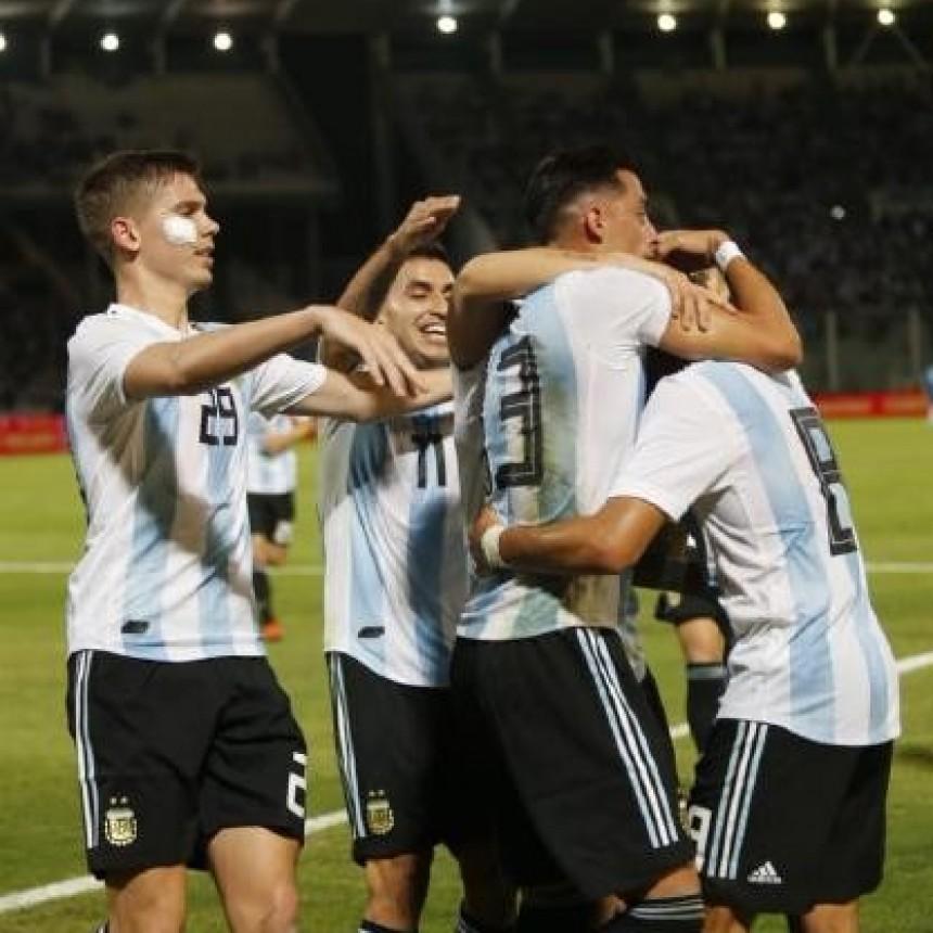Selección Argentina le ganó a México en el amistoso