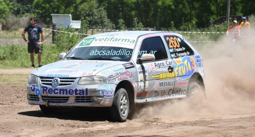 Pablo Fasano ganó el Mega Rally de Chivilcoy y obtuvo el campeonato