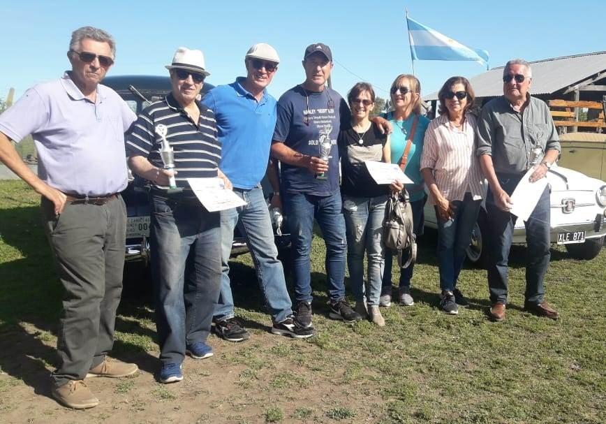 Saladillenses participaron de la 5ta. Vuelta de los Tamberos en Cañuelas