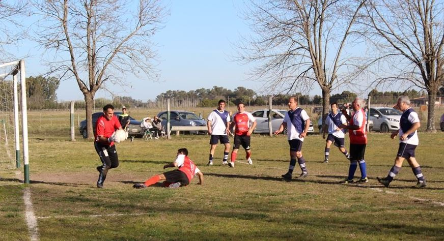 Se jugó la cuarta fecha del Torneo de Veteranos