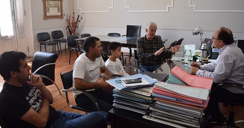 Facundo Medina se reunió con el Intendente de Saladillo