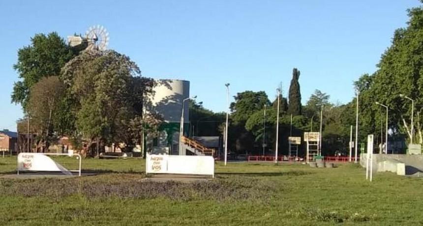 Skatepark:  repararán las redes metálicas en Saladillo