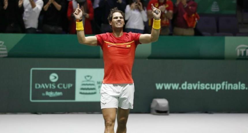 España, con un Nadal excelso, se queda con la Copa Davis de tenis en casa