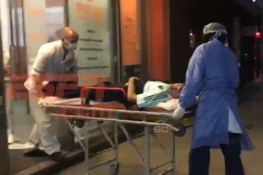 Grave lesión de Palacios provocada con intención por Romero