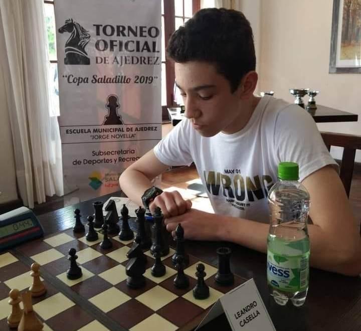 Leandro Casella ganó por segunda vez el Saladillo Invitational